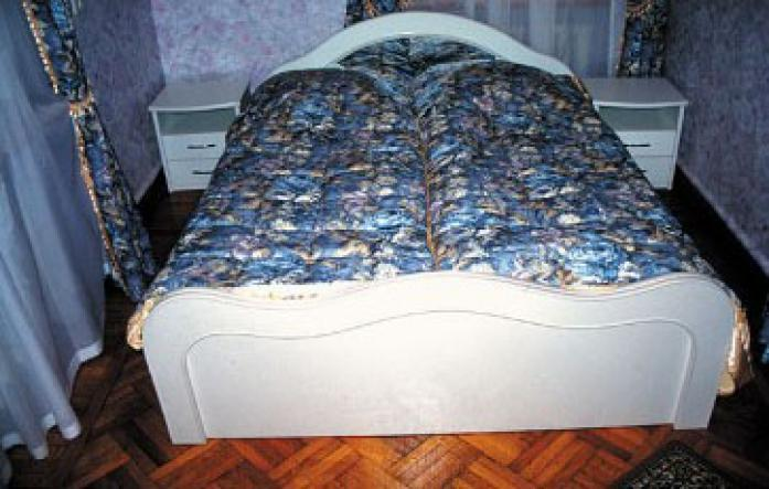 """Спальня в 2-х комнатном номере - Санаторий Родина (бывший """"Украина"""")"""