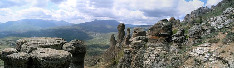 весеняя демерджи - Гора Демерджи + водопад Джур-Джур