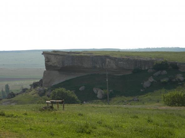 вид на вершину - Белая Скала - Ак-Кая
