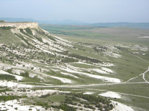 панорама Белая Скала - Белая Скала - Ак-Кая