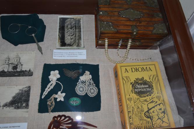 витрина музея Крым - Старый Крым