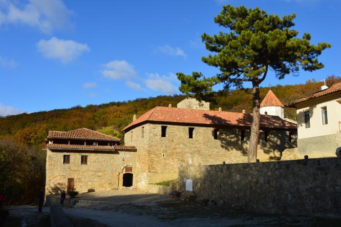 армянский монастырь Сурб-Хач, Крым - Старый Крым