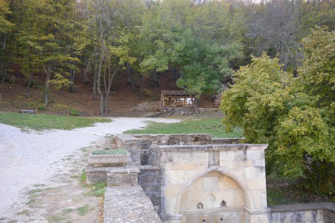 святой источник - Старый Крым