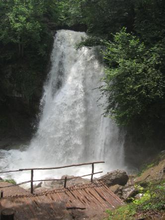 крымский водопад - Гора Демерджи + водопад Джур-Джур