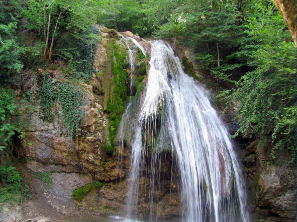 Водопад Джур-Джур - Водопад  Джур-Джур + ванны и каскады реки Арпат
