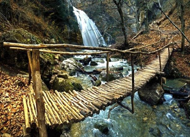 крымский мостик - Гора Демерджи + водопад Джур-Джур