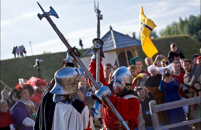 Рыцарские бои в Судаке - Судакская Крепость