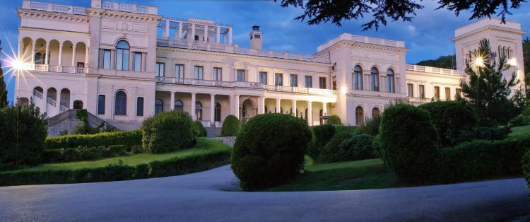 ливадийский дворец - Ялта. Блистательные дворцы Южнобережья.