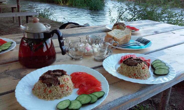 Ужин у хозяина - Белая Скала - Ак-Кая