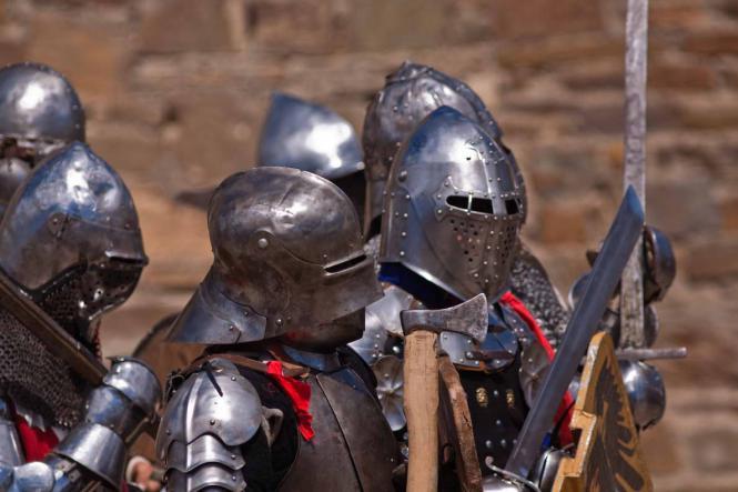 Рыцарский турнир в Судаке - Судакская Крепость