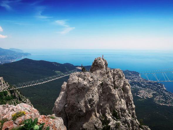 зубцы айпетри - Большой  каньон  Крыма + большая канатная дорога на Ай-Петри