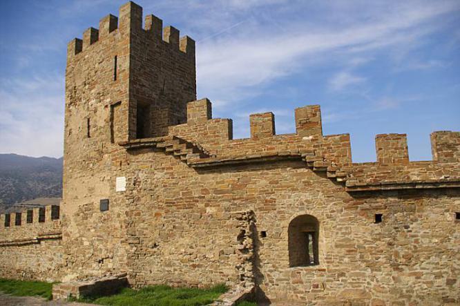 Генуэзская Крепсоть - Судакская Крепость