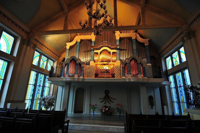 органный зал в ливадии - Ялта. Блистательные дворцы Южнобережья.