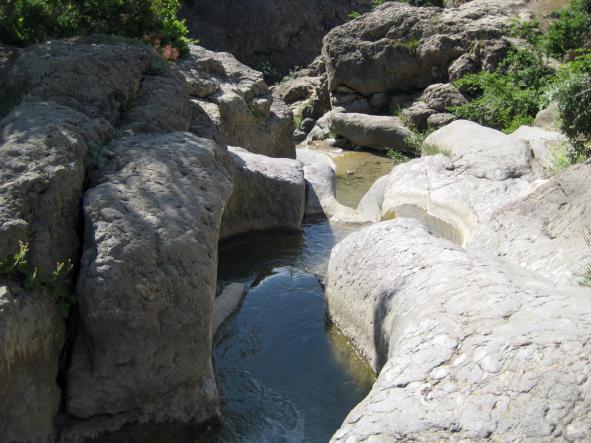каскады реки Арпат - Каньон реки Арпат