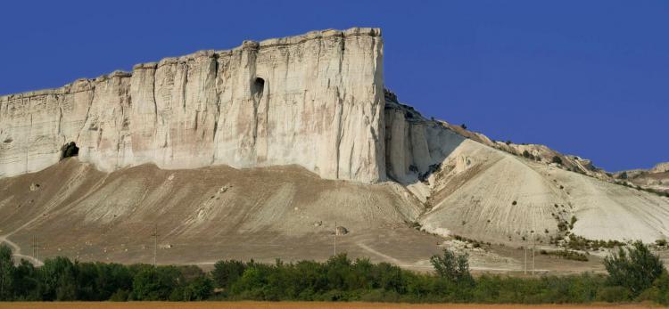 Белая скала. Ак-Кая - Крым глазами кинолюбителя