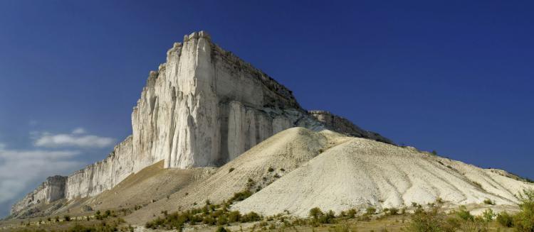 Белая скала в Белогорске - Мозаика Восточного Крыма