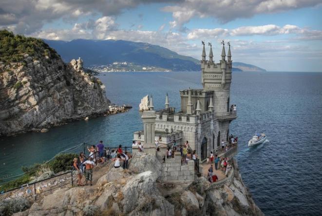 Замок Ласточкино гнездо - Крым глазами кинолюбителя  ( для групп от 6 чел)