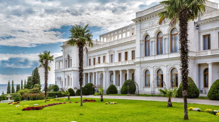 Ливадийский дворец. Крым - Крым глазами кинолюбителя  ( для групп от 6 чел)