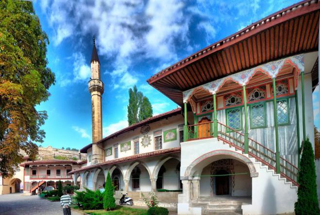 Ханский дворец в Бахчисарае - Крымская кругосветка
