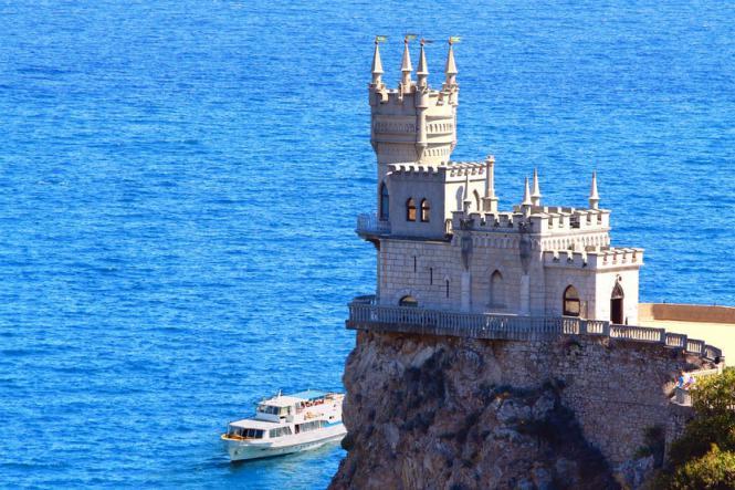 Ласточкино гнездо. Крым - Крымская кругосветка