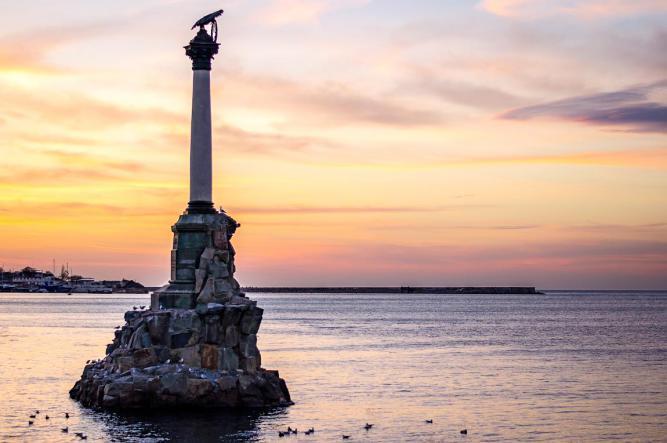 Севастополь. Памятник - Крымская кругосветка