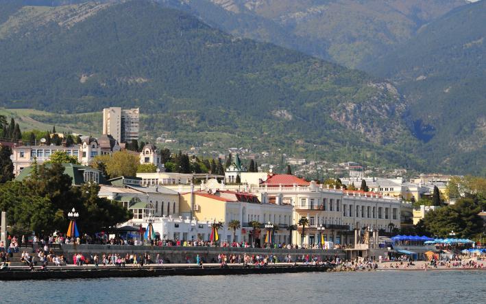 Ялта. Набережная - Крымская кругосветка