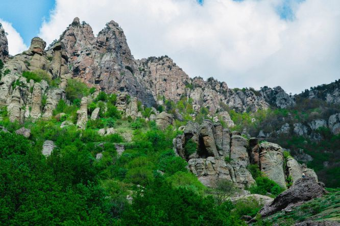 Демерджи, Алушта - Гора Демерджи + водопад Джур-Джур
