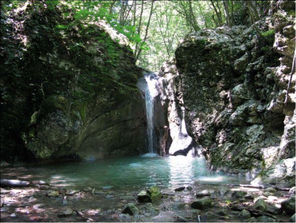 Кок-Асан, Крым - Кок-Асан - малый каньон Крыма.