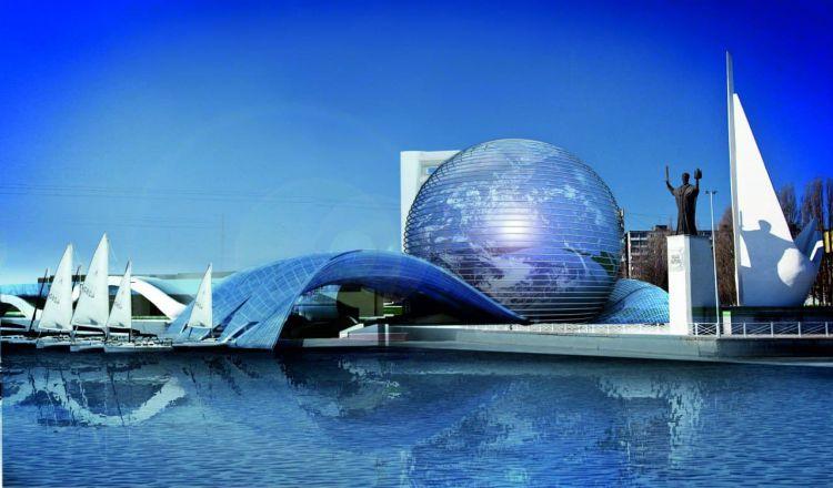 музей мирового океана - Калининград  (авиа)