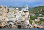 Замок Ласточкино гнездо в Крыму - Крымская кругосветка