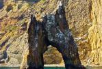 золотые ворота карадаг - К  потухшему  вулкану  Кара-Даг